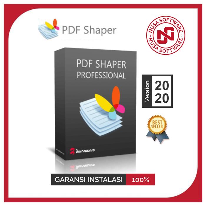 PDF Shaper Professional 2021