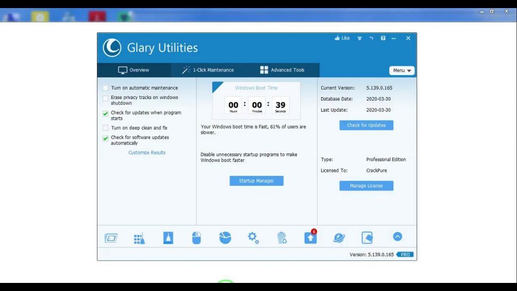 Glary Utilities 2021 with Serial Number