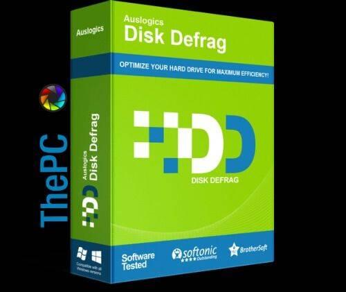 Auslogics Disk Defrag 2020 Crack