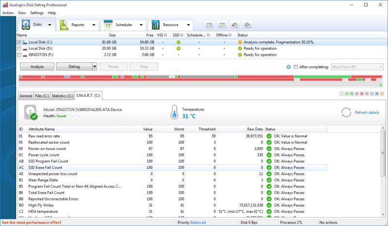 Auslogics Disk Defrag 2020 Keygen