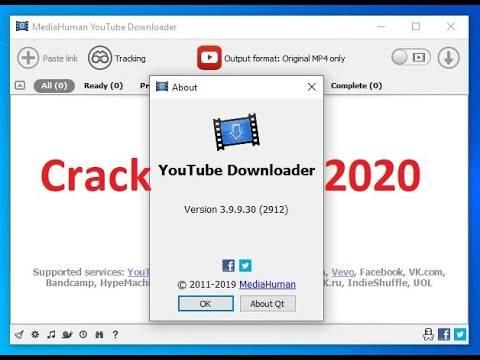 MediaHuman YouTube Downloader 2020 Serial Number