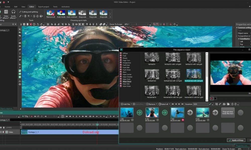 VSDC Video Editor 2020 Crack + Patch