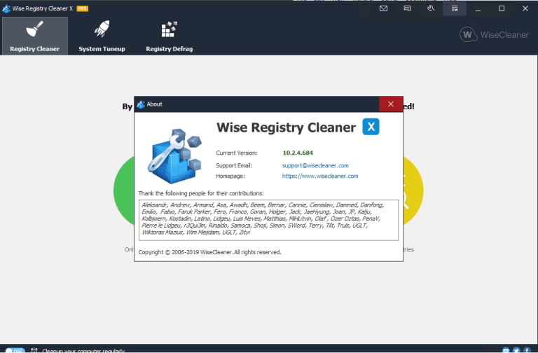 Wise Registry Cleaner Pro Activation Key