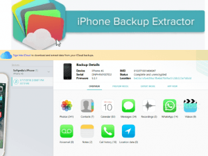 iPhone Backup Extractor 7.7.31.3350 Crack Full Activation Keygen 2020