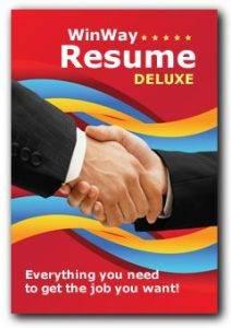 WinWay Resume Deluxe 14.00 Pre-Crack Free Download