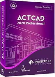 ActCAD Professional 2021 Crack with License Key